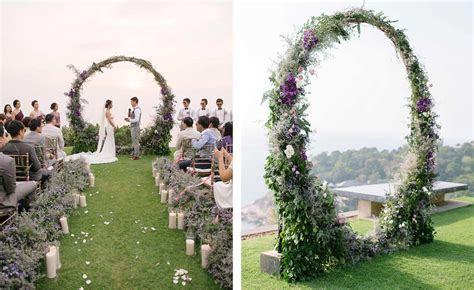 Little Wedding Arch Metal Round Wedding Arch Moon Wedding Dcor