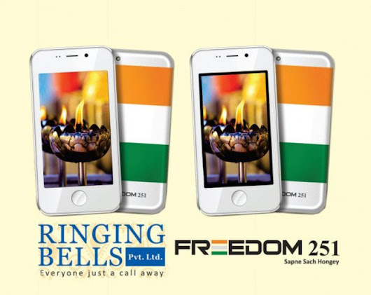 Freedom 251: The Cheapest Smartphone To Be Launched For Just Rs. 251 - TechnoDoze