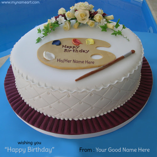 Birthday Cake Images With Name Ajay : wish your girlfriend or boyfriend birthday greeting card ...