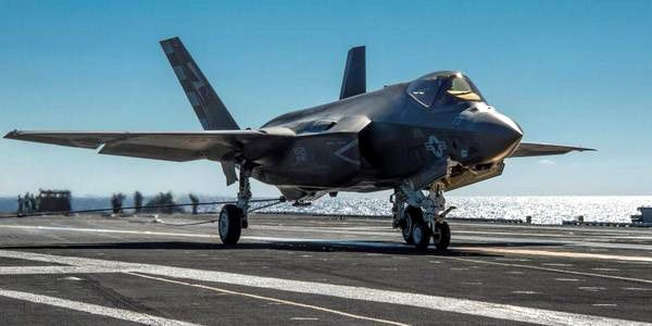 The F-35C Lightning II touches down on the USS Nimitz on November 3, 2014...marking the first time a Joint Strike Fighter jet made an arrested landing aboard an aircraft carrier.