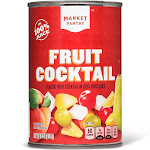 Fruit Cocktail In 100% Fruit Juice 15oz - Market Pantry