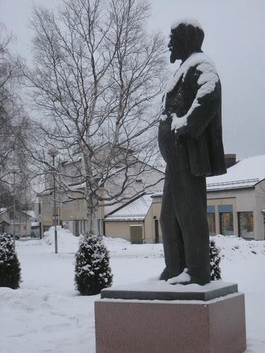 Juhani Aho, patsas Iisalmessa