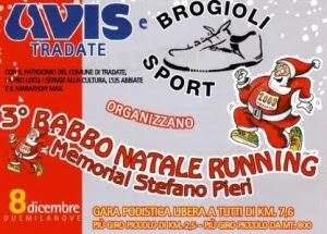 Babbo Natale Running logo
