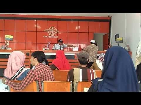 Video Soraya di Kantor Pos Indonesia Area Ciputat