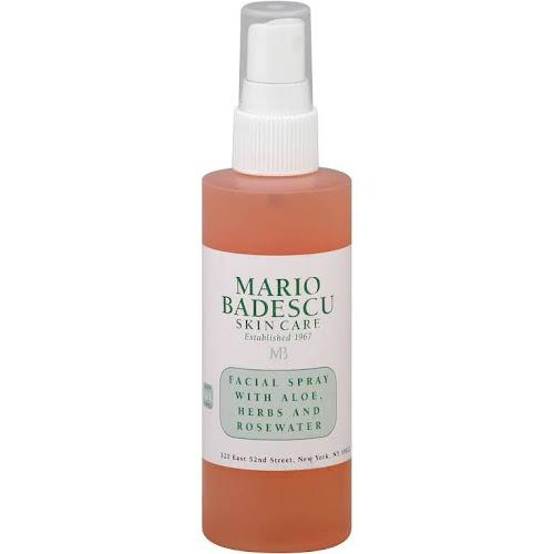 Mario Badescu Facial Spray, with Aloe, Herbs and Rosewater - 4 oz