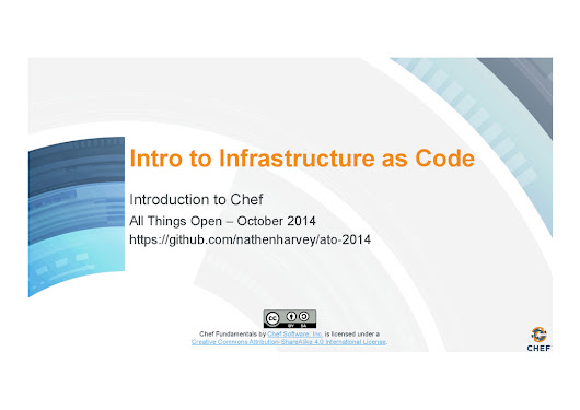 Introduction to Infrastructure as Code and Chef