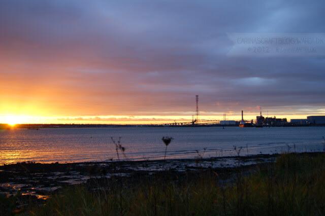 Sunset, December 7 2012 - 4