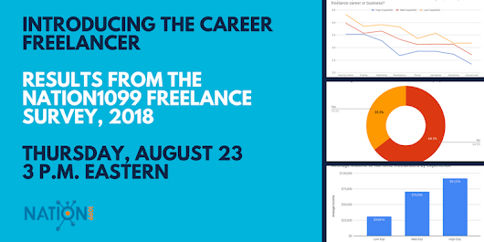 Introducing the Career Freelancer: Results From the Nation1099 Freelance Survey, 2018 - Crowdcast