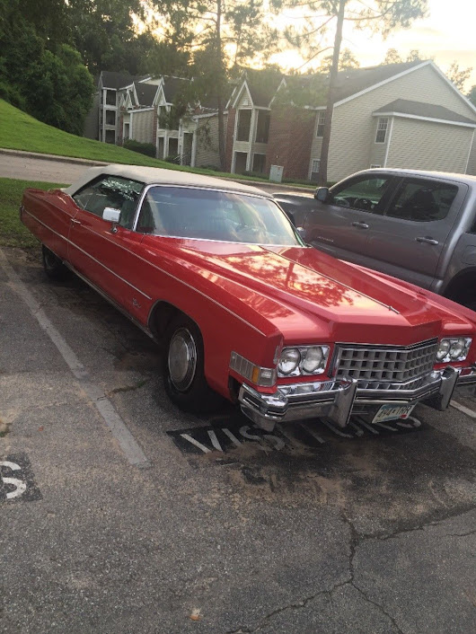 low miles 1973 Cadillac Eldorado Convertible for sale