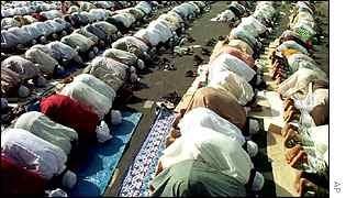 Fiéis do Islã formam a segunda maior religião do planeta