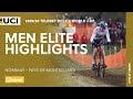 Vídeo resumen de la Copa del Mundo de ciclocross masculina de Nommay 2020