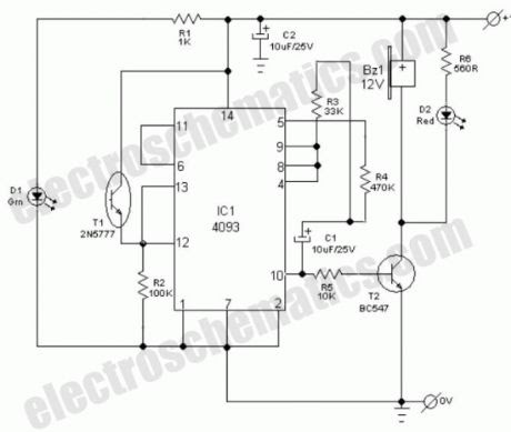 ELECTRIC FENCE: WIRING DIAGRAM ELECTRIC FENCER