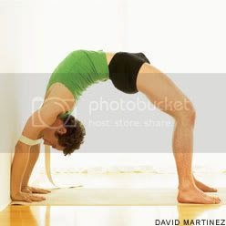 chakrasana or urdhva dhanurasana Pictures, Images and Photos