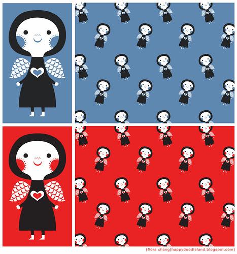 Girl+Pattern