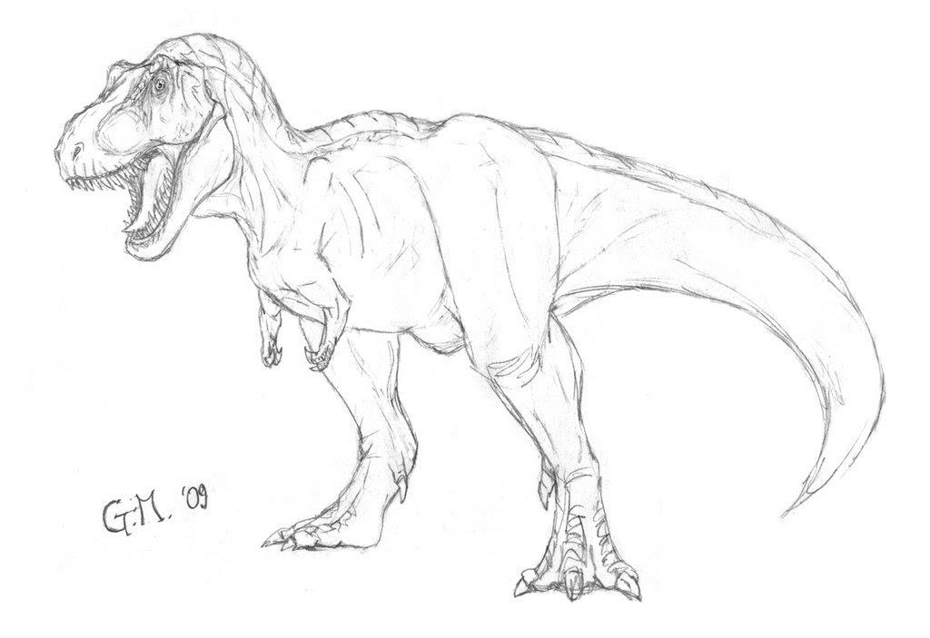 Coloriages à Imprimer T Rex Numéro 297588