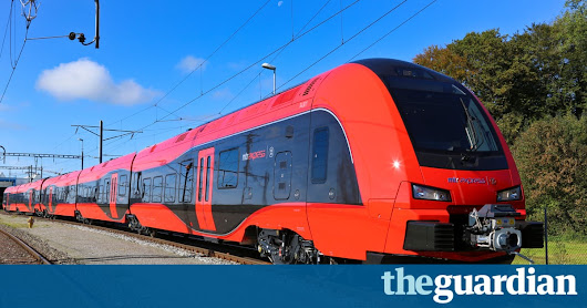 Trainy McTrainface: Swedish rail firm approves name following online poll | World news | The Guardian