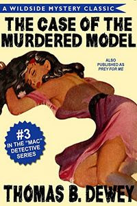 The Case of the Murdered Model by Thomas B. Dewey