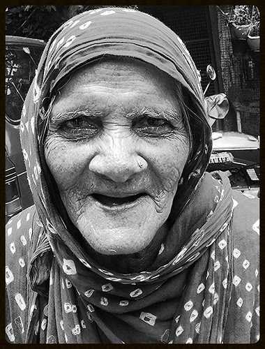 The Muslim Voter Of Bandra Bazar Road by firoze shakir photographerno1