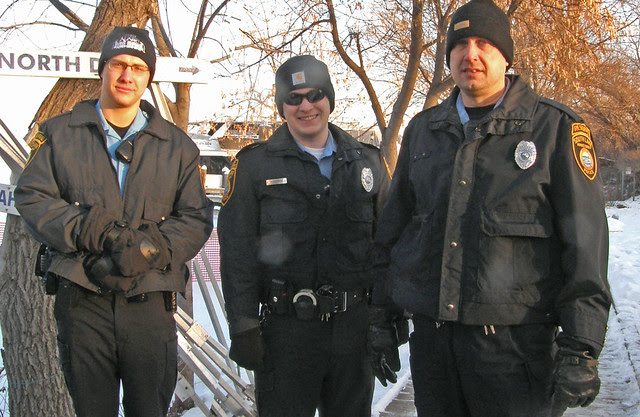 The cold cops