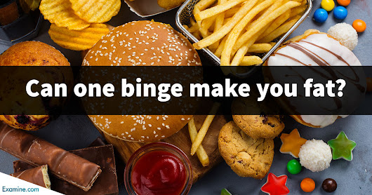 Can one binge make you fat?