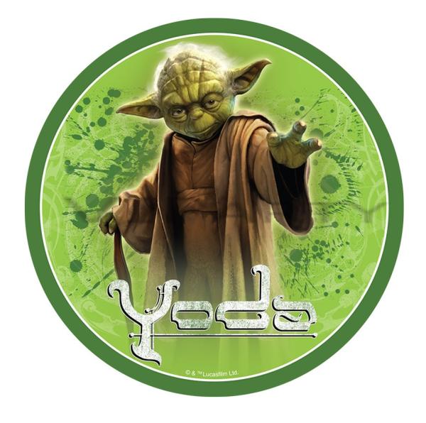 Star Wars Yoda Edible Cake Topper Viparty