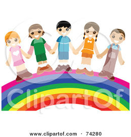 http://images.clipartof.com/small270/74280-Royalty-Free-RF-Clipart-Illustration-Of-A-Group-Of-Happy-Children-Holding-Hands-And-Standing-On-A-Rainbow.jpg