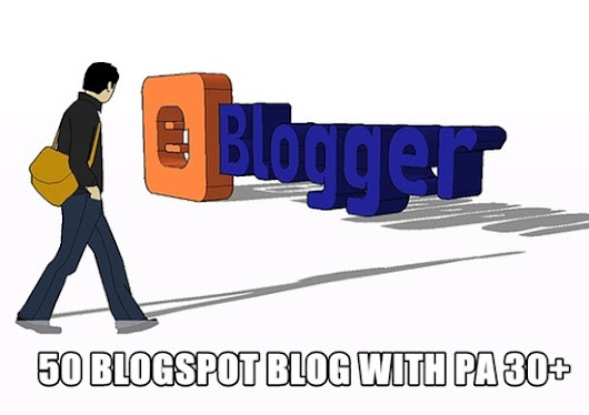 I will 50 expired Blogspot blogs PA 30 Plus