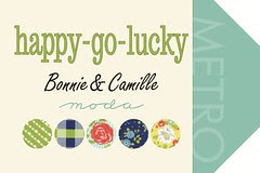 Happy Go Lucky for Friday's Fabric Giveaway!