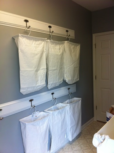 Amazon.com - Household Essentials Hanging Cotton Canvas Laundry