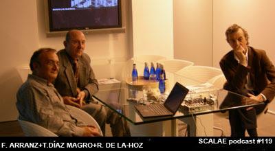 Rafael de La-Hoz, Tomás Díaz Magro y Félix Arranz en Zona de Expertos