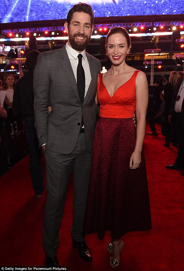 Another one:Emily Blunt is pregnant again. The Devil Wears Prada actress is expecting her second child with actor John Krasinski, her rep confirmed to Us Weekly on Tuesday; here the couple is seen on January 12