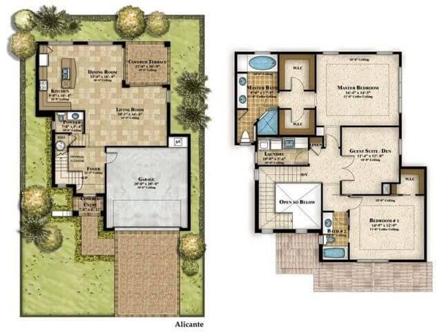 Inspirasi Denah Rumah Minimalis 3 Kamar Tidur Type 36 Interiordesign Id