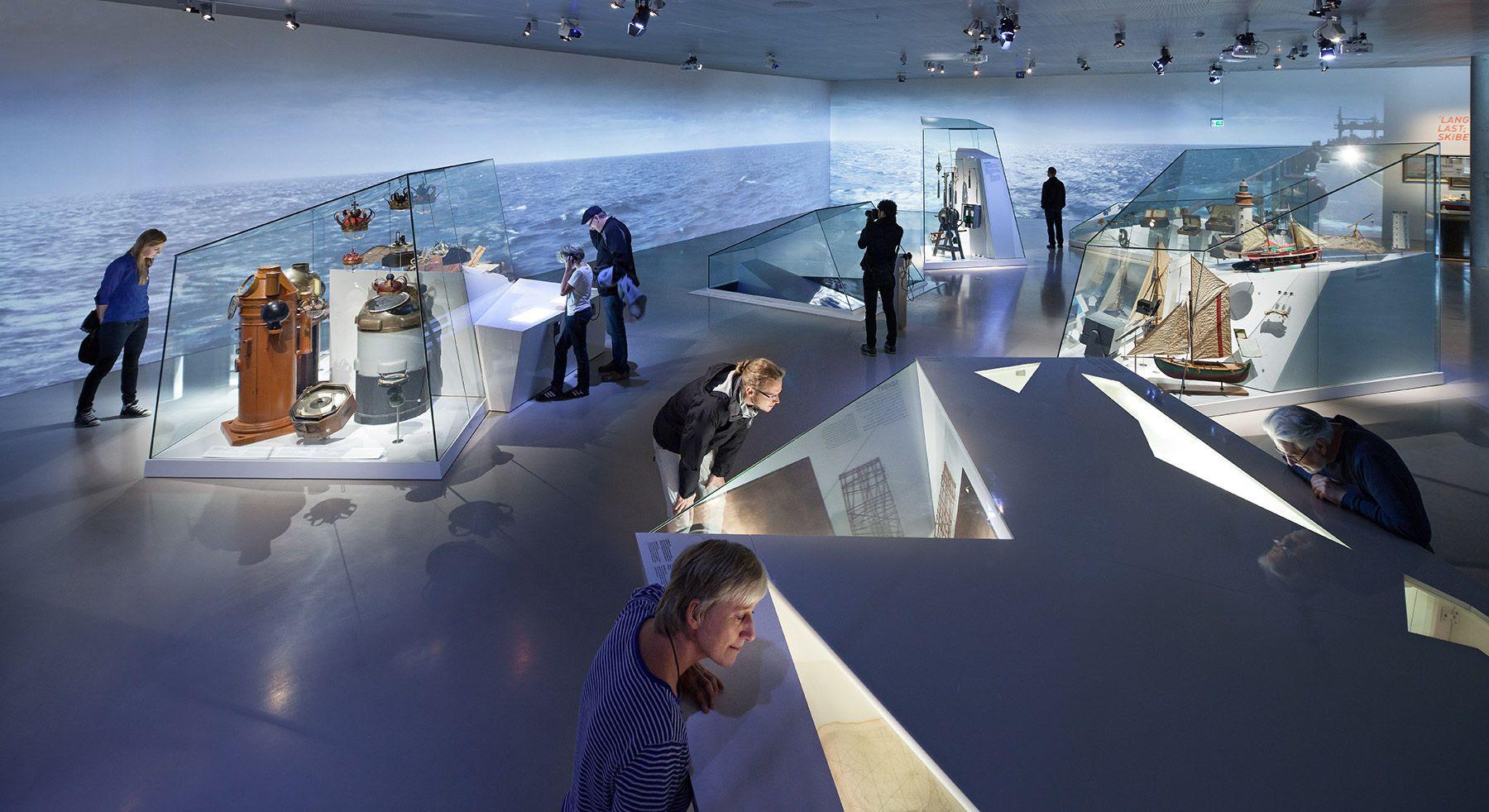 Nội thất bảo tàng hàng hải Đan Mạch