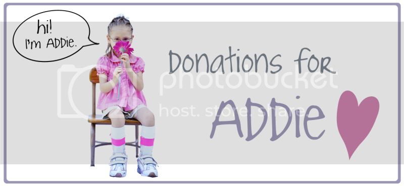 Donations for Addie