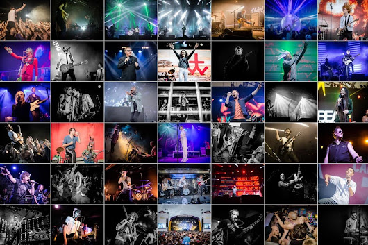 Best of 2017 - Live Music - Brian Robinson Photography