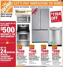 Depot Weekly Ad 11/24/13-11/30/13. Whirlpool French Door ...