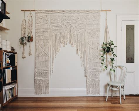 Macrame Wedding Arch Hire   The Middle Aisle
