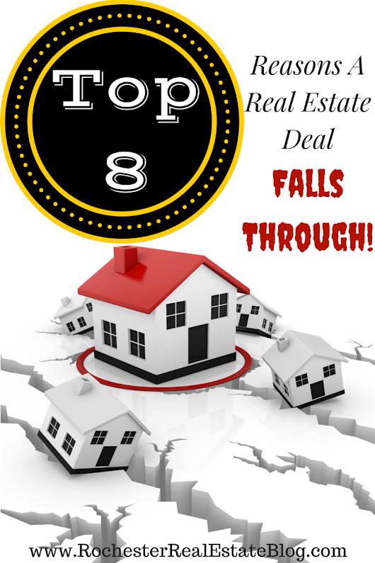 How often real estate deals fall through