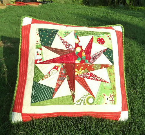 Christmas in July pillow