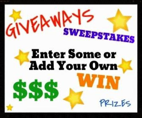 Giveaways & Giveaway Linky!! ~ Freebies Deals & Steals