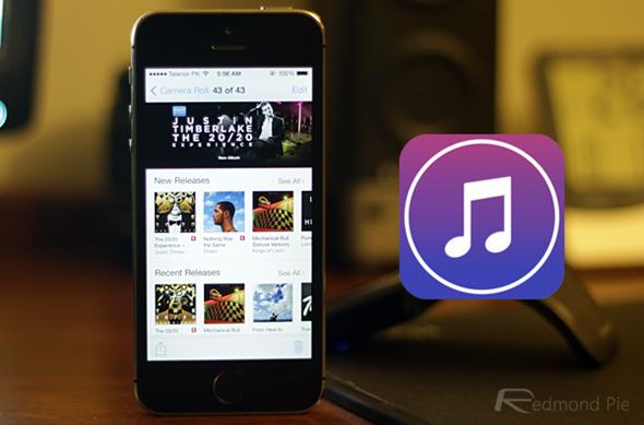 iTunes Store iOS 7 iPhone 5s