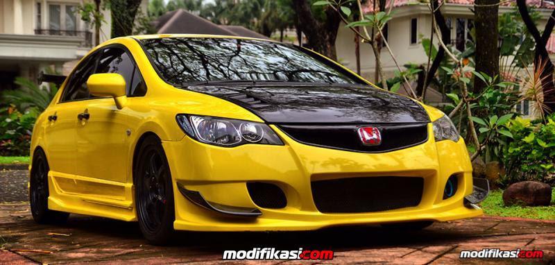 Cari Gambar Mobil Civic Warna Kuning