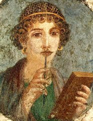 [Portrait of Sappho]