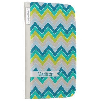 Island Oasis {chevron pattern} Cases For Kindle