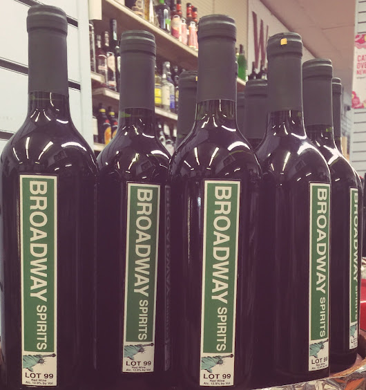 BROADWAY SPIRITS Red Blend Wine! MADE IN NY!