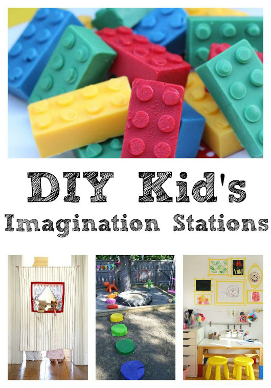 DIY Kid's Imagination Station - Sippy Cup Mom