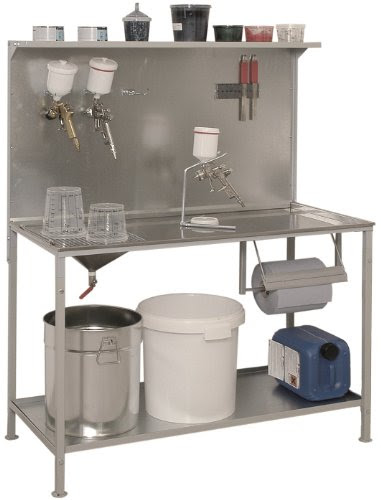 B-TEC Systems P-01 Stainless Steel Mixing and Work Table ...