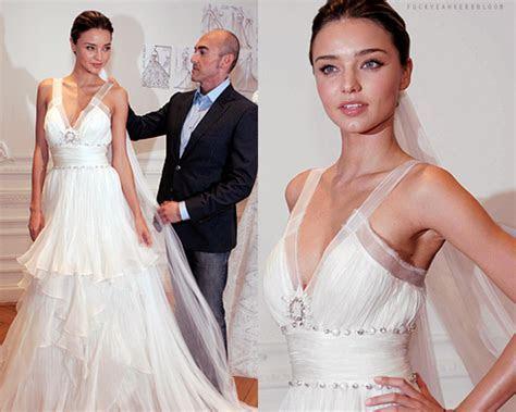 Your Bridal Fashion Inspiration: Miranda Kerr   Arabia