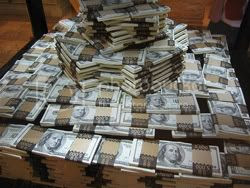 piles of money Pictures, Images and Photos