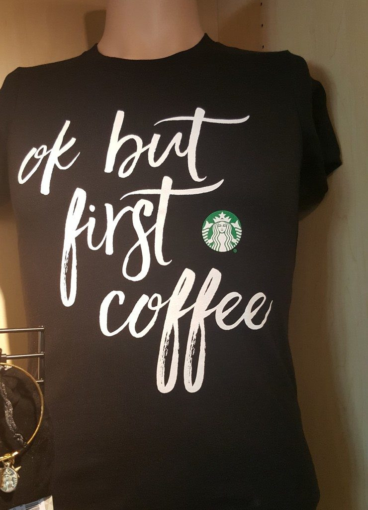 Ok but first coffee t-shirt and more. Must-have t-shirt. - StarbucksMelody.com